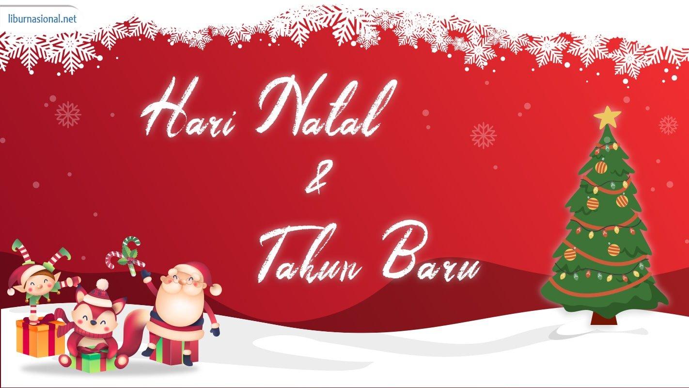 hari natal dan tahun selalu digunakan sebagai salah satu kalender libur nasional dan sekaligus cuti bersama di indonesia