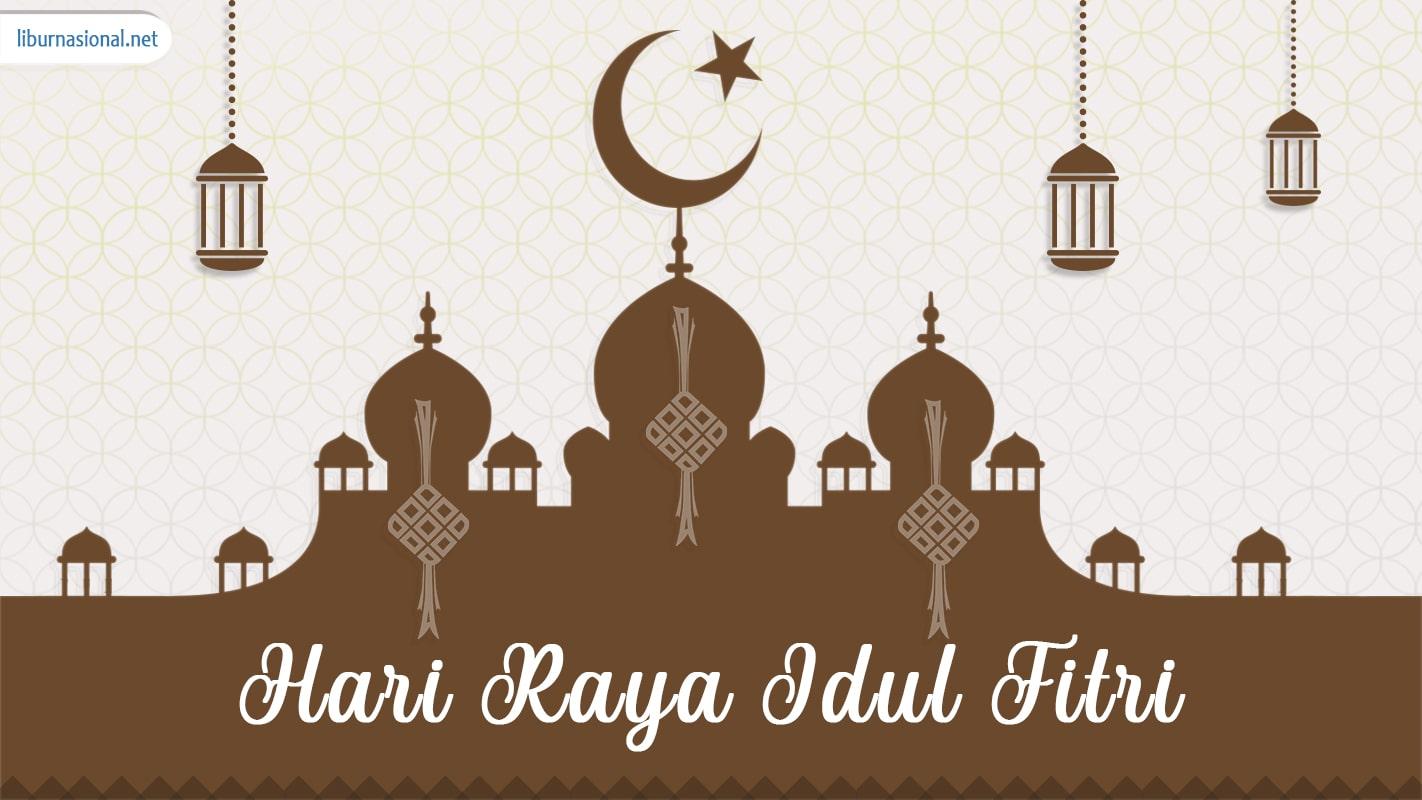 """Image for google search of """"idul fitri or hari raya lebaran"""" as """"libur nasional"""" from liburnasional.net"""