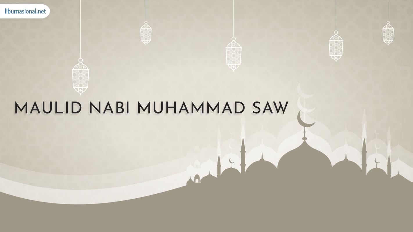 maulid nabi muhammad merupakan salah satu libur nasional di indonesia